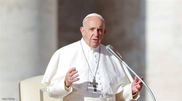 البابا يدعو الى تحويل ادوات الكراهية الى سلام