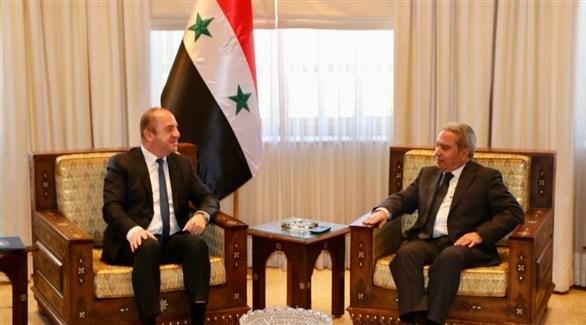 وفد لبناني في دمشق لبحث ملف النازحين
