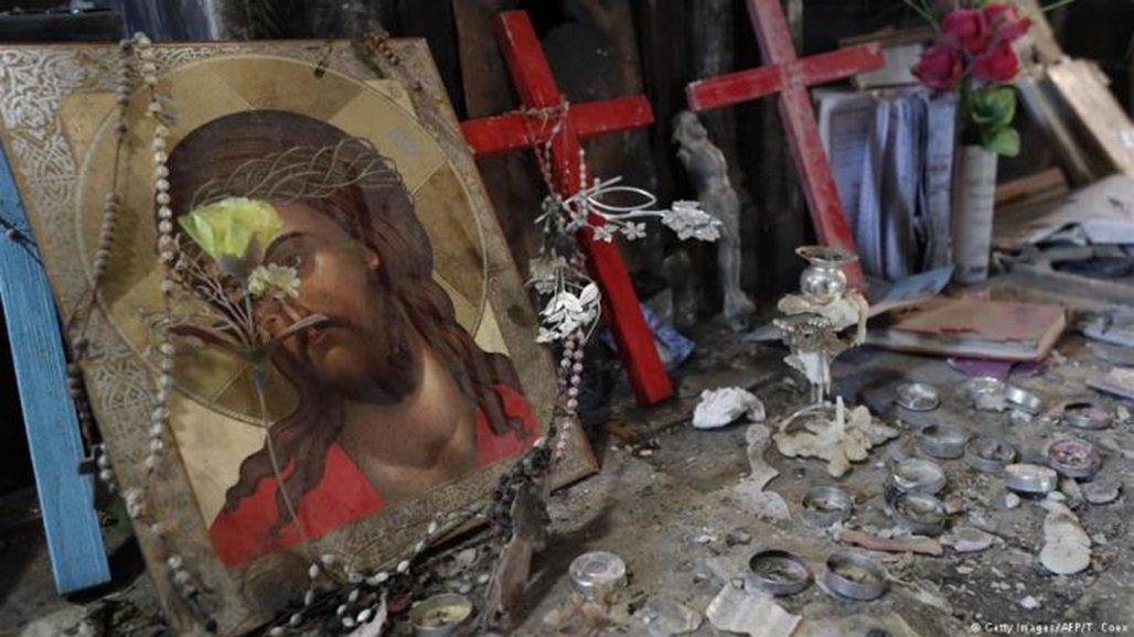 حقوق الإنسان تنشر إحصائية تخص المسيحيين في العراق