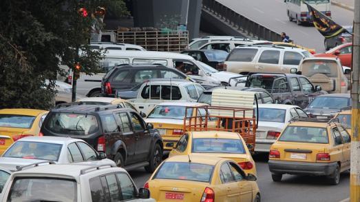 الطرق المغلقة في العاصمة بغداد