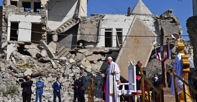 البابا يصل قرقوش